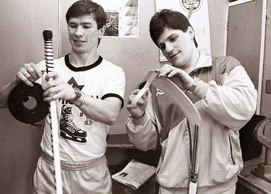 Vyacheslav Bykov and Sergey Makarov