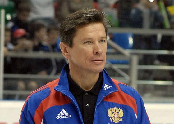 Coach Vyacheslav Bykov