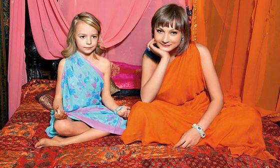 Ксения с дочерью