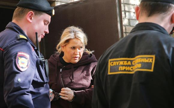 Father Vasilyeva said that the ex-official was serving a sentence, as it should be