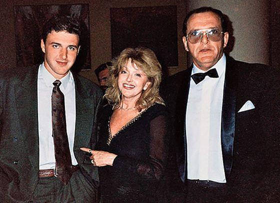 Молодой Виторган со своим знаменитым отцом