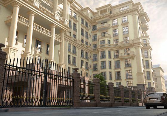 Клубный дом подразумевает закрытость и обособленность жилья