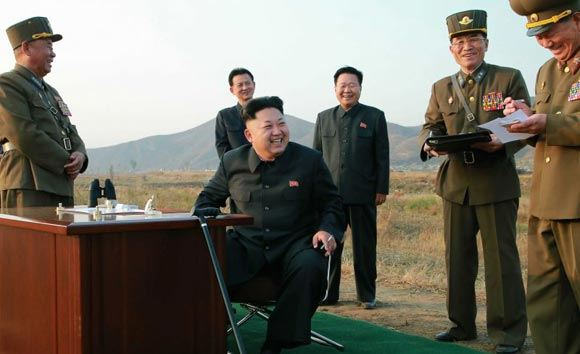 North Korea decided to respond to joint exercises of the United States and South Korea
