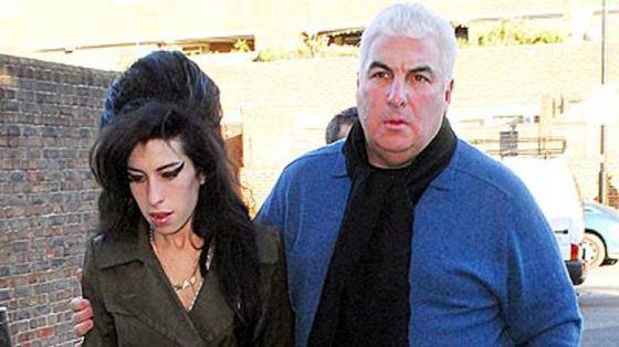 Эми с отцом