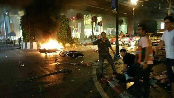 Мощный взрыв прогремел в столицы Таиланда