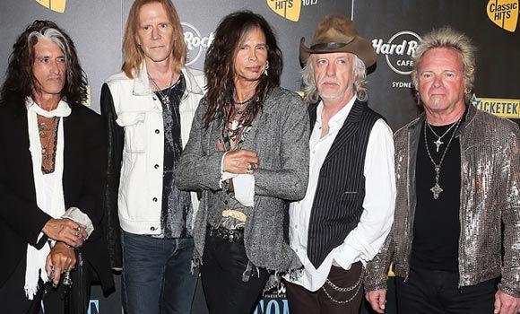 Группа Aerosmith 5 сентября выступит на Дне города в Москве
