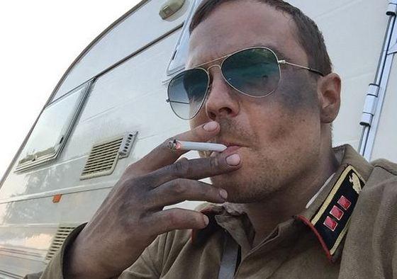 Алексей на съемках в Минске