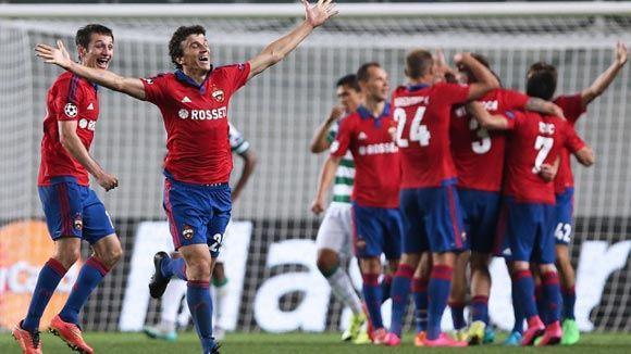 ЦСКА вышел в групповой этап Лиги чемпионов