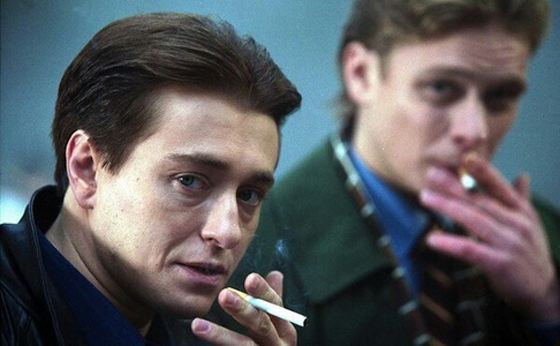 Sergey as Sasha Bely