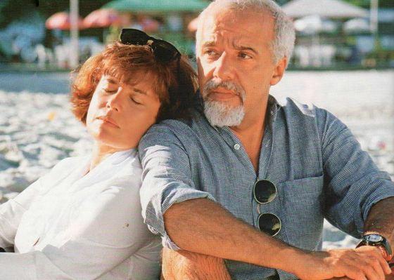 Paulo Coelho with his wife Cristina
