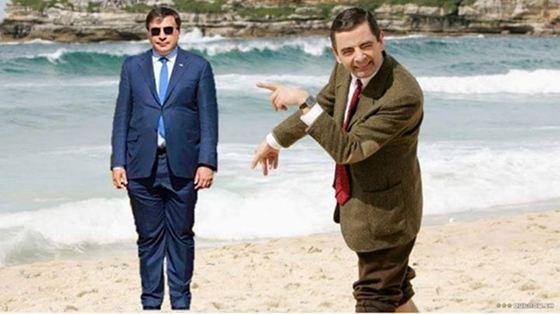 Саакашвили стал объектом для насмешек