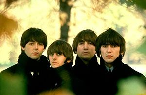 """In the photo: the group """"The Beatles"""""""
