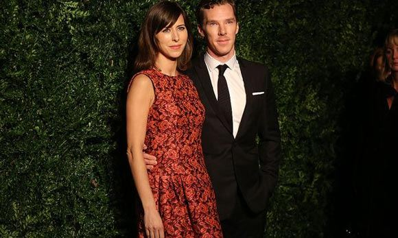 Benedict Cumberbatch and Sophie Hunter called son Christopher Carlton