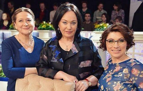 Лариса Гузеева с коллегами по работе