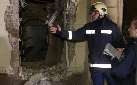 В офисе «Правого сектора» в Киеве прогремел взрыв