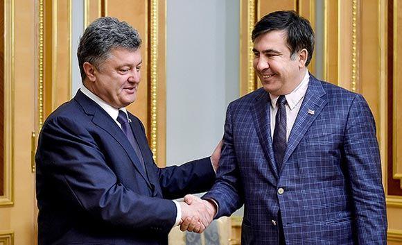 На сайте Порошенко появилась петиция за назначение Саакашвили премьером Украины