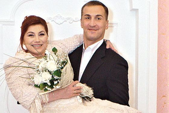 Роза со вторым супругом - Юрием Андреевым