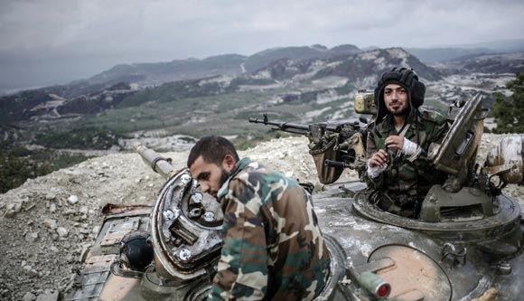 Москва отрицает, что в Сирии есть российские войска