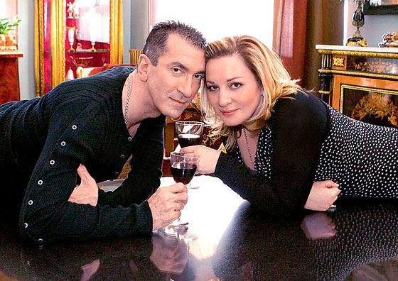 Александр с женой Аленой