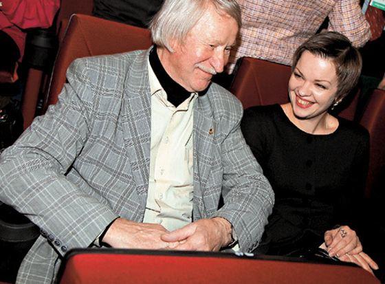 Иван Краско с третьей женой Натальей Вяль
