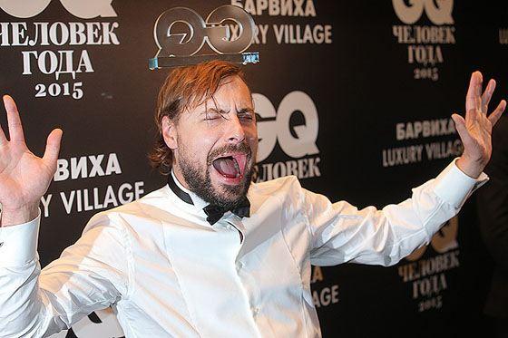 Евгений Цыганов на церемония вручения премии журнала GQ «Человек года»