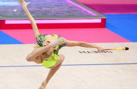 Гимнастка Яна Кудрявцева завоевала 12-е «золото» в своей карьере