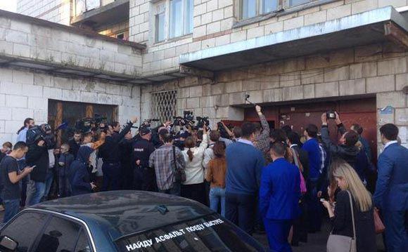 Костромские выборы: Власти заблокировали штаб наблюдателей