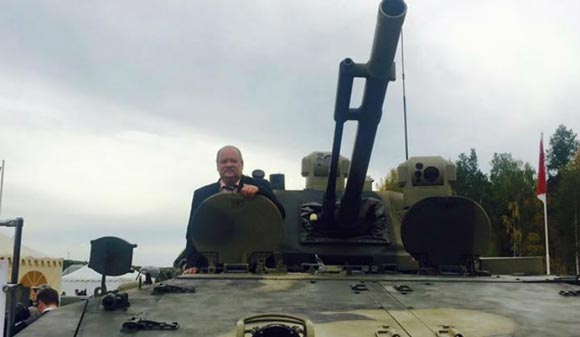 MP Igor Zotov denied reports that he was stuck in a tank