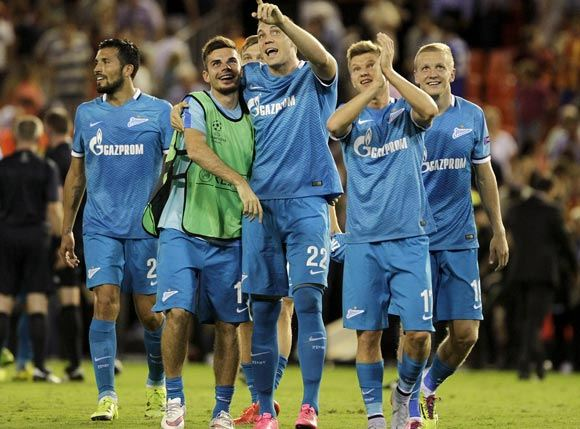 «Зенит» дебютировал в нынешнем сезоне Лиши чемпионов, обыграв «Валенсию»