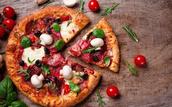 Пицца оказалось самым часто фотографируемым блюдом