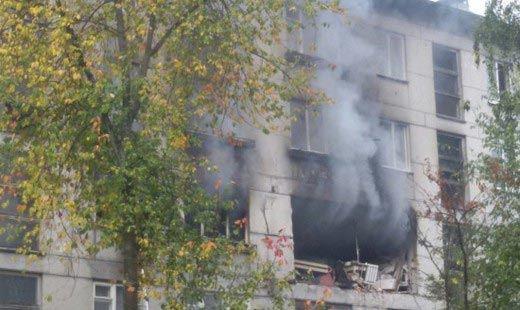 В жилом доме в Петрозаводске взорвался бытовой газ
