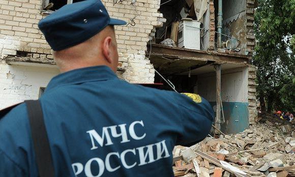 В Омске обрушились перекрытия в жилом доме