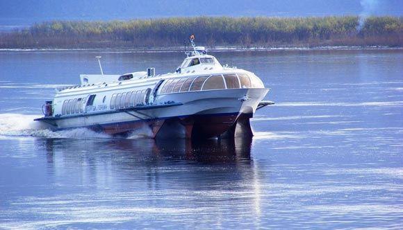 Теплоход «Сергей Торбин» столкнулся на Амуре с катером: жертв нет