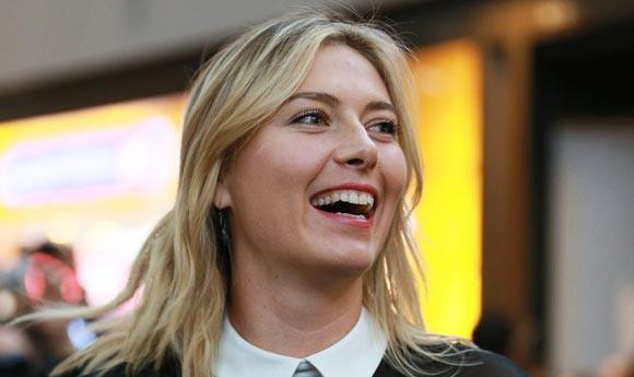 Мария Шарапова заняла 18-е место в списке самых коммерчески успешных спортсменов