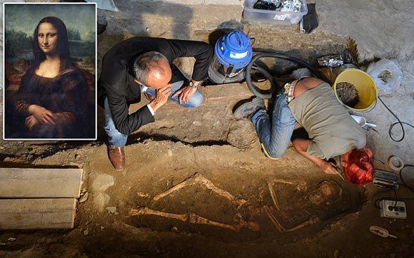 Итальянские археологи нашли останки Моны Лизы