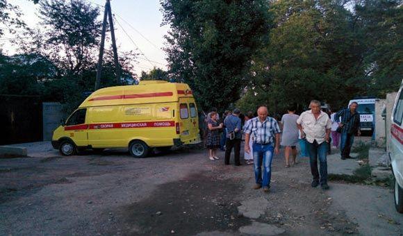 В Симферополе расстреляли троих сотрудников «скорой»