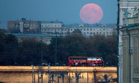 Над Москвой взойдет «кровавая Луна»