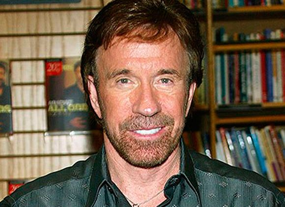 Pictured: Chuck Norris