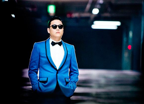 Pictured: PSY