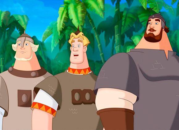Кадр из мультфильма «Три богатыря: на дальних берегах»