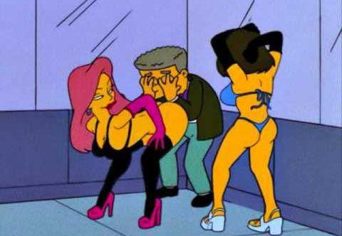 Смитерс из Симпсонов признается в своей гомосексуальности