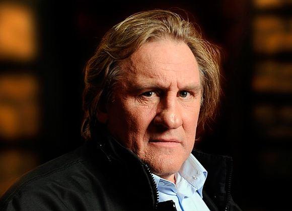 In the photo: Gerard Depardieu