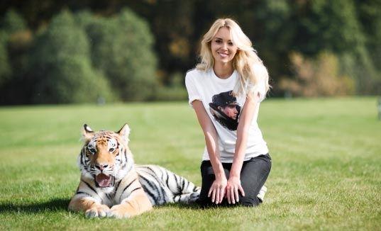 Мисс мира просит Путина помочь тигренку Миру