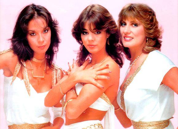 На фото: группа «Арабески» (1983 год)