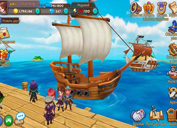 «Бухта пиратов» от R2Games стала доступна пользователям Google Play и AppStore
