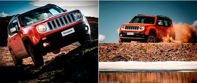 В салонах Major Auto представлен новый Jeep Renegade