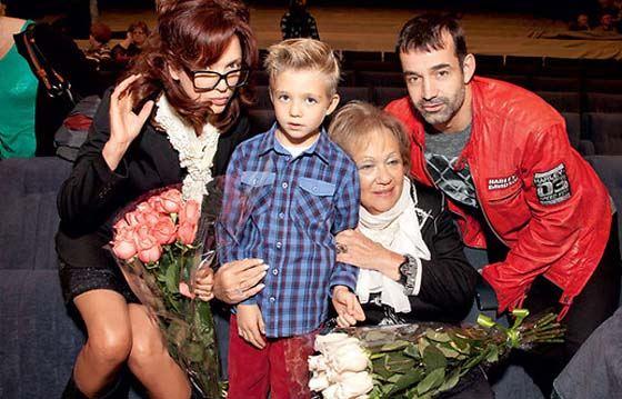 Ольга Дроздова, Дмитрий Певцов с сыном Елисеем