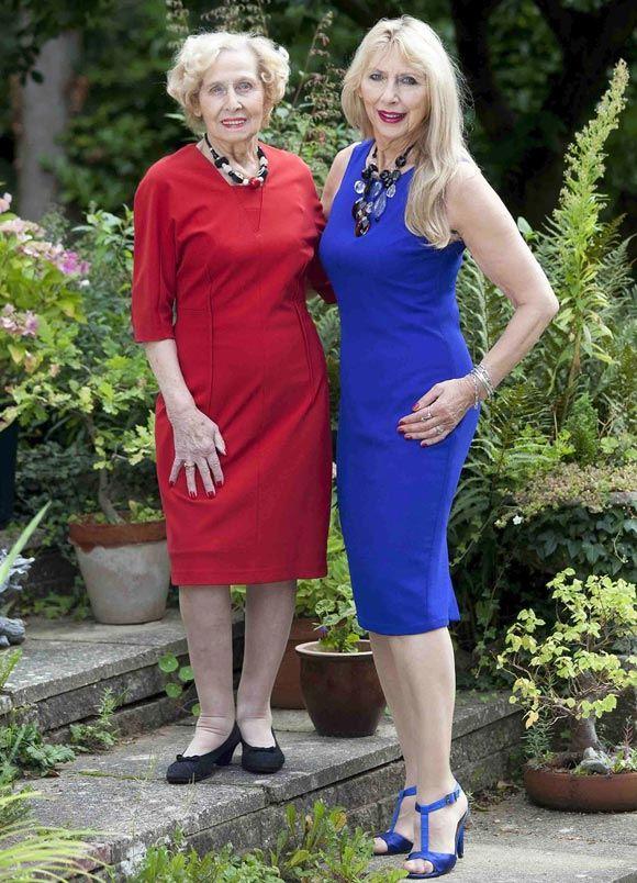 Джейн Уитлок и ее дочь Глория