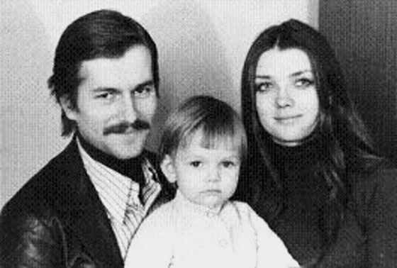 Игорь Ливанов с первой семьей