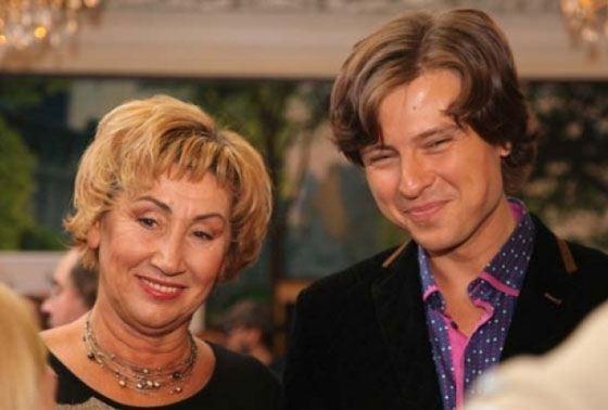 Лариса с бывшим мужем Прохором Шаляпиным